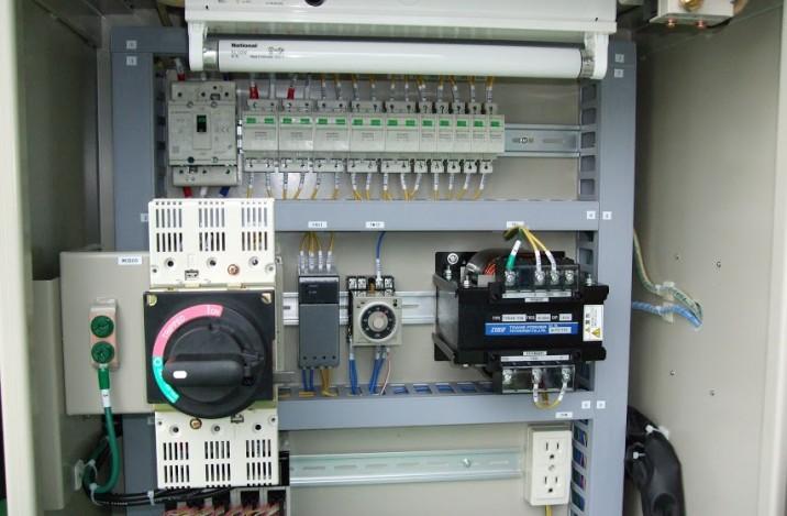 焼成炉制御盤