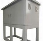S社様(2) ガス施設の温調設備を格納する、屋外用筐体