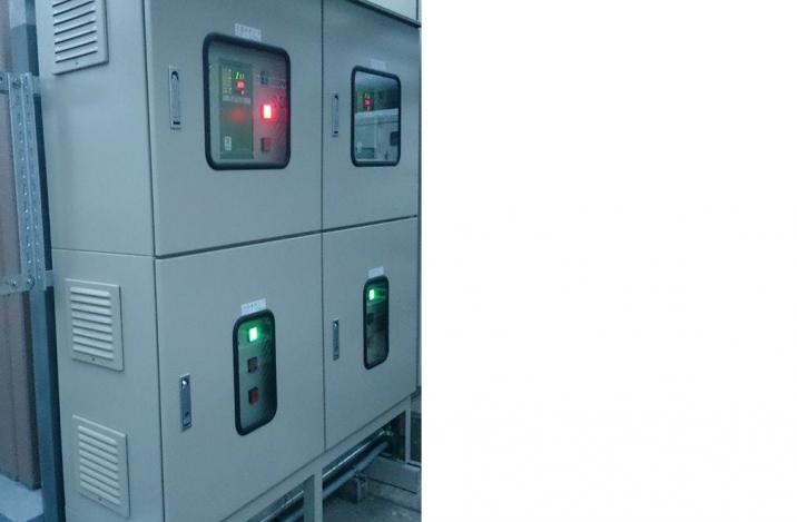 空調用インバーター盤の量産機設計